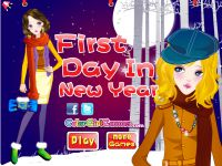 Neujahr Dress Up